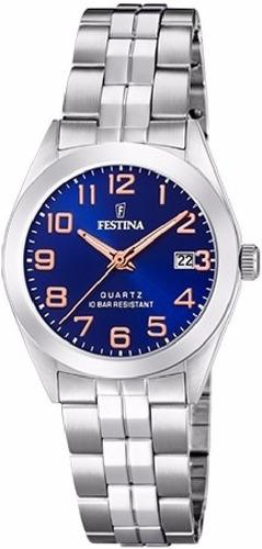 reloj mujer festina clasico f20438.2 x local + envio+ regalo