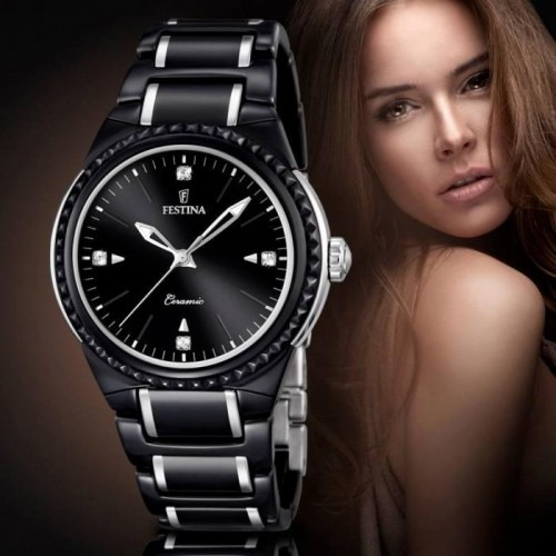 reloj mujer festina f16698.4 agente oficial