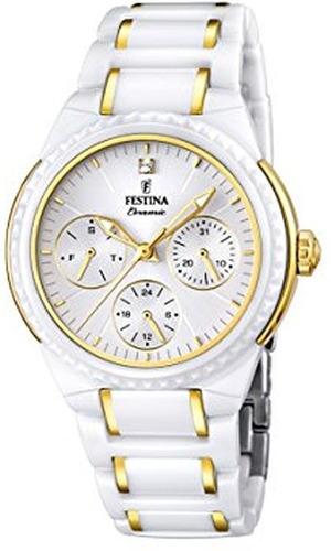 reloj mujer festina f16699.2 agente oficial