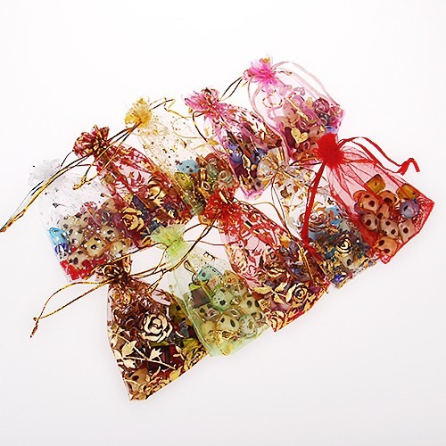 reloj mujer floreado de silicona 2 x 49 soles