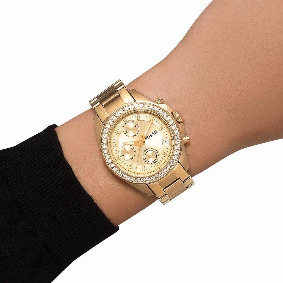 81c18d9d6c4b reloj mujer fossil es2683 cronografo calendario wr 100 mts. Cargando zoom.