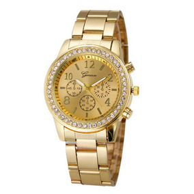 mejores zapatillas de deporte a1b31 32414 Reloj Mujer Geneva 501 - Dorado