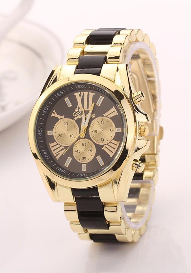 61102caa7dab Reloj De Mujer Color Dorado Marca Geneva. Estilo M.k -   13.990 en ...