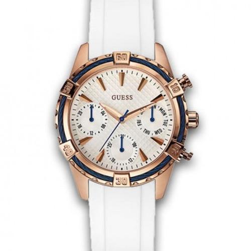 reloj mujer guess w0562l1 white agente oficial envio gratis