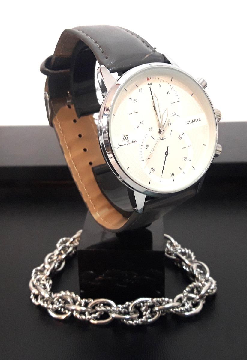 reloj mujer jean cartier + pulsera acero quirurgico syd8. Cargando zoom. a19e9e833391