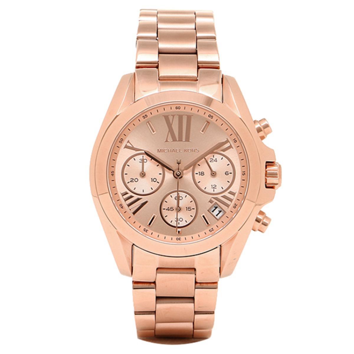 8802c636150a reloj mujer michael kors bradshaw dorado rosa. Cargando zoom.