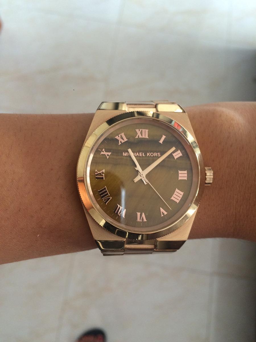 1bd0cd64ce41 reloj mujer michael kors color oro rosado. Cargando zoom.