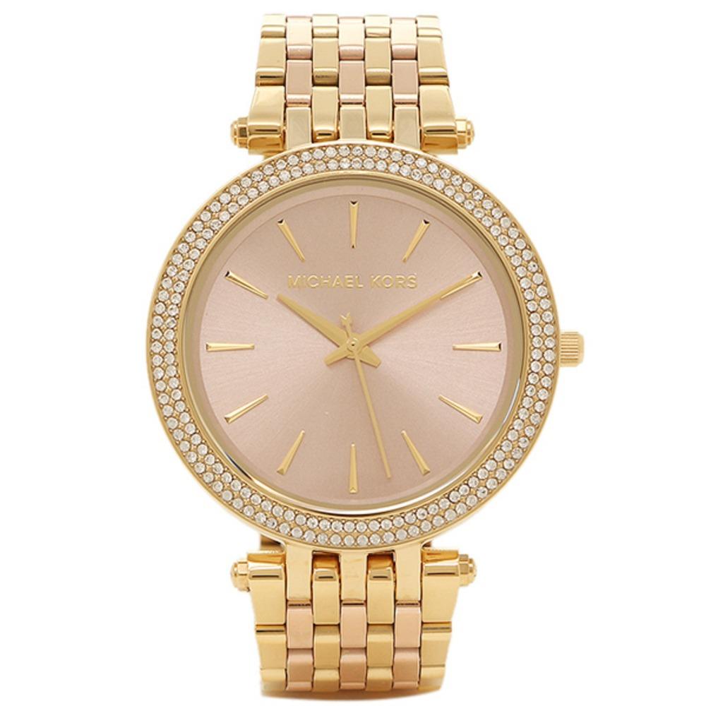f573f4a5d35a Reloj Mujer Michael Kors Darci Dorado Y Rosa -   169.990 en Mercado ...