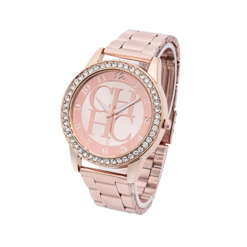78390f95b5 Reloj Mujer Oro Rosa Ch - $ 399.00 en Mercado Libre