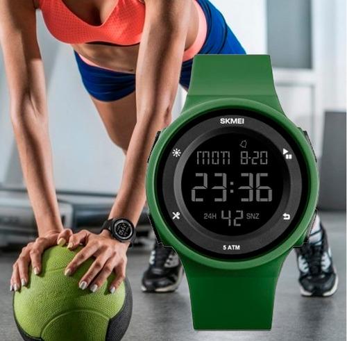 reloj mujer skmei deportivo 1445 digital sumergible 5atm