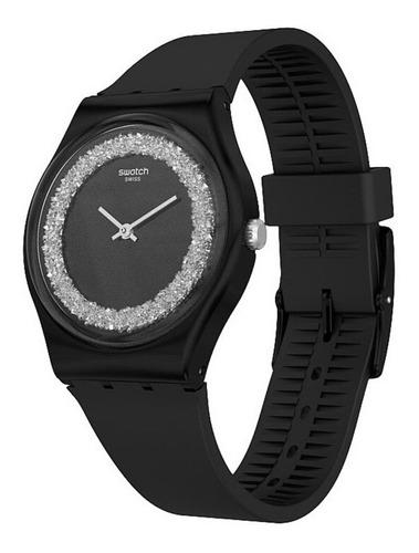 reloj mujer swatch sparklenight con swarovski® gb312