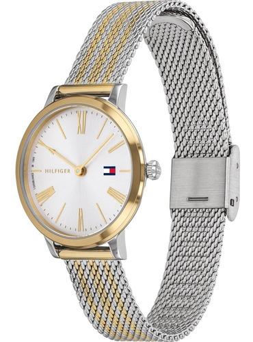 reloj mujer tommy hilfiger de acero combinado 1782055