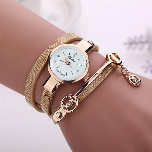 reloj mujer vintage - lujo manilla elegante amor y amistad