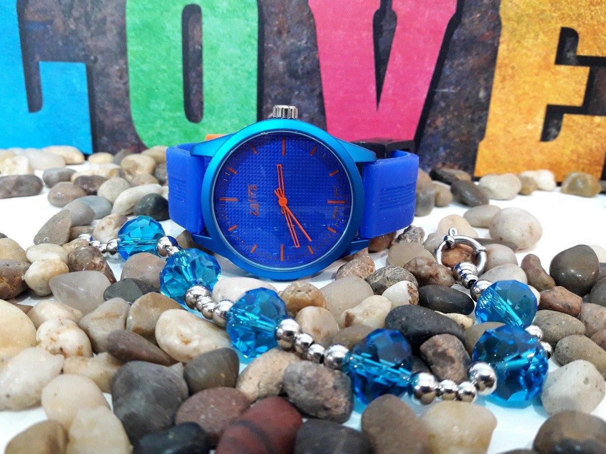 reloj mujer zafira y pulsera acero quirurgico set mujer vco8. Cargando zoom. 8d9df89a6c6d