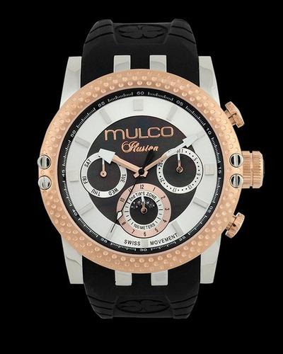 reloj mulco ilusion mw3-11169-025 unisex | envío gratis