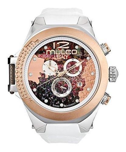 reloj mulco legacy impresionism movimiento cronografo suizo