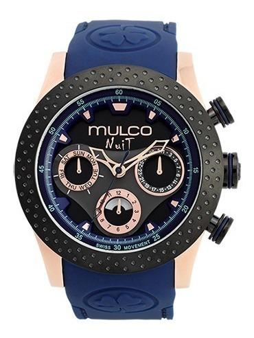 reloj mulco nuit mw-51962-445 unisex | original envío gratis