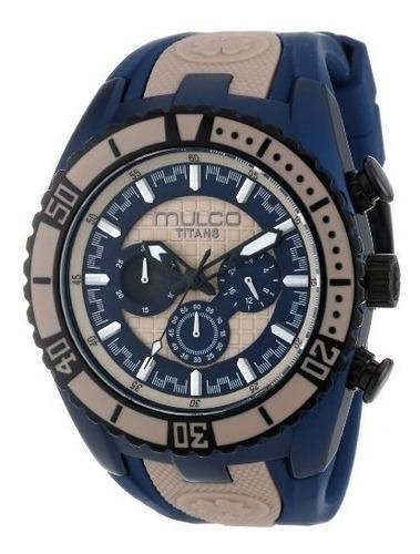 reloj mulco para hombre mw5-1836-114 titans wave de cuarzo