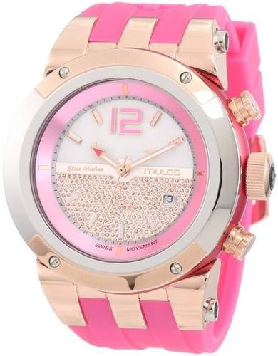 reloj mulco  wmul1146 rosado femenino