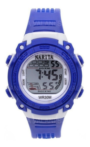 reloj narita sport watch cronómetro alarma niños  garantía