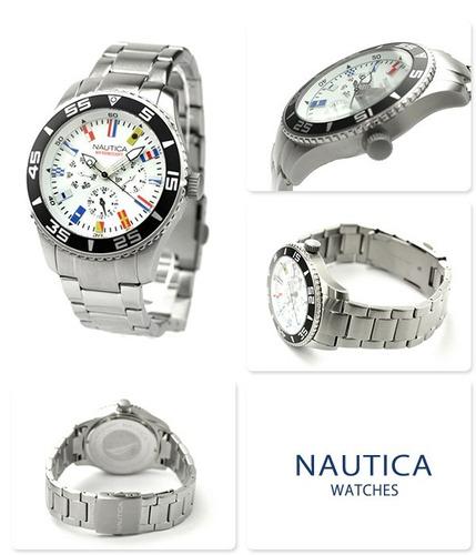 reloj nautica a14630g hombre tienda oficial!! envió gratis!!