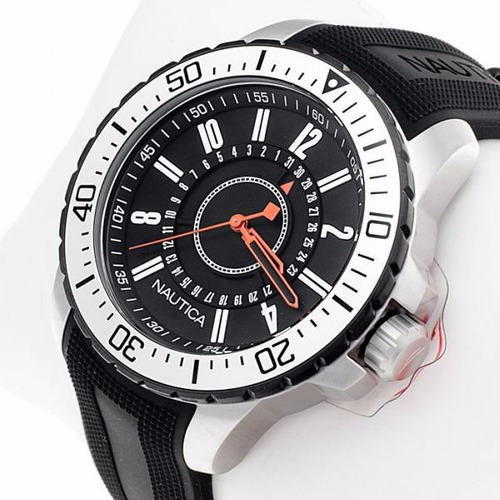 reloj nautica a14661g hombre sumergible envio gratis