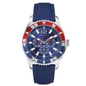 40c824396abc Reloj Nautica Para Caballero N23600g Color Dorado  2950 Rm4 - Reloj ...