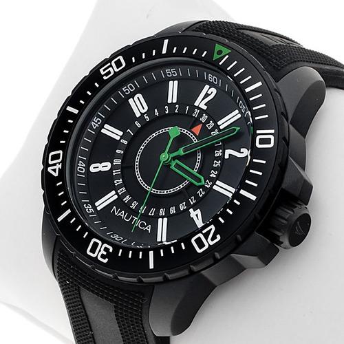 reloj nautica a15640g hombre fechador wr 100m envió