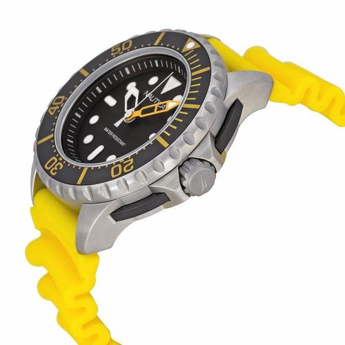 reloj nautica a18635g hombre wr 200m caucho envió gratis