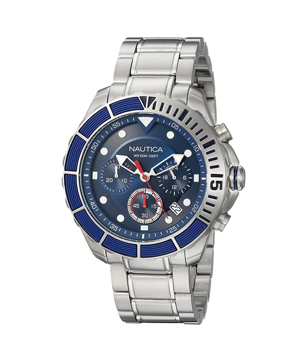 7d4303004f9f reloj nautica color azul para hombre nuevo original importad. Cargando zoom.