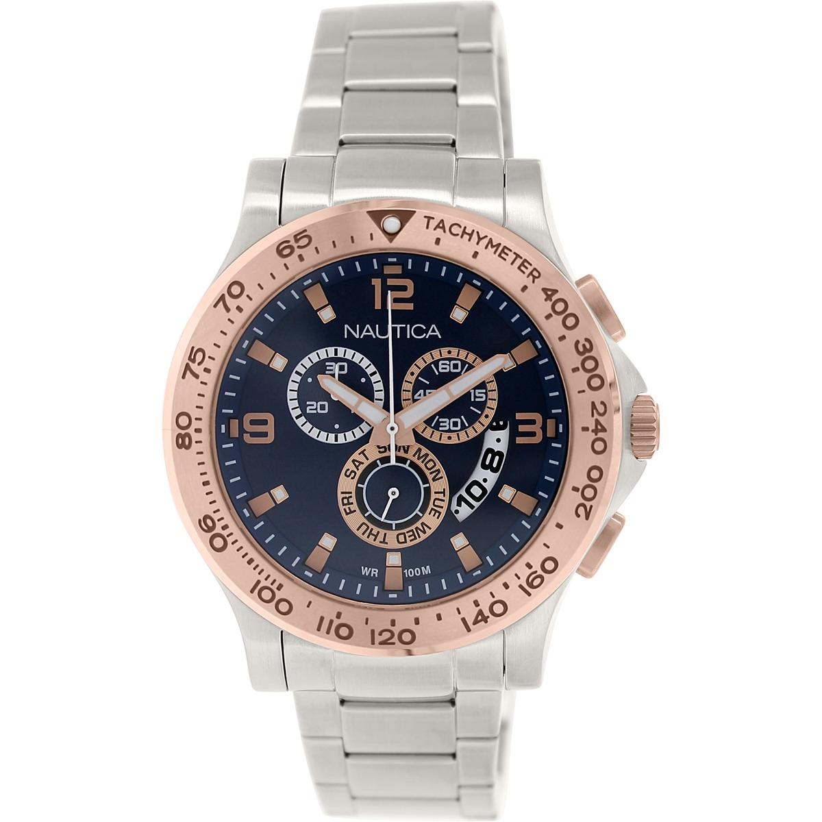 26f96449c57c Reloj Nautica Para Hombre Nst 600 Nad22503g Acero -   780.550 en ...