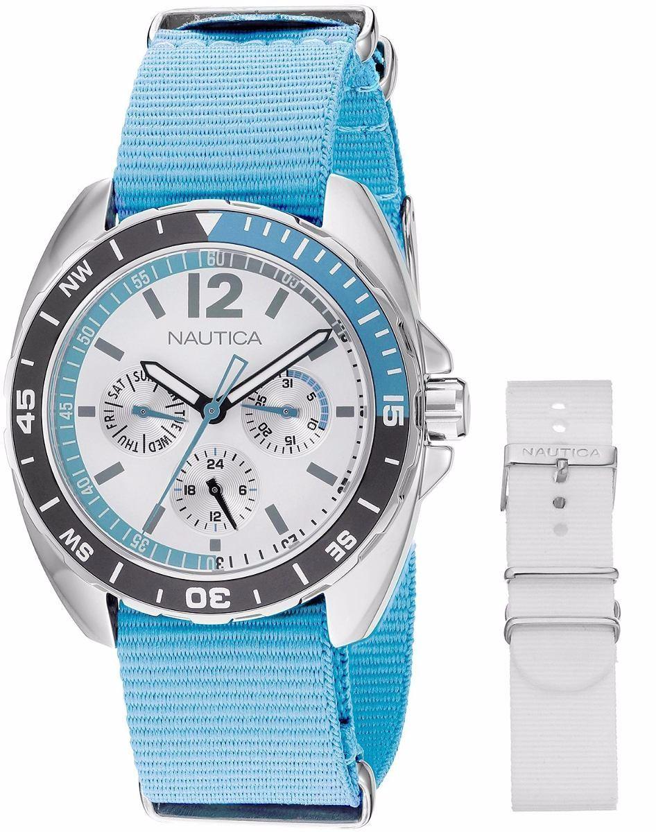 Reloj Nautica Para Dama Mujer Analogo Azúl -   2 c1814fd58bef