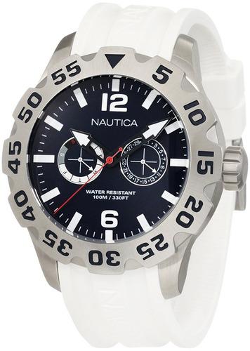 reloj nautica n g blanco u9