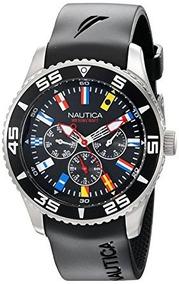 d5a7ac6ae2b4 Reloj Nautica Nst Banderas Azul - Reloj de Pulsera en Mercado Libre ...