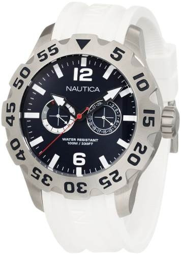 reloj nautica n16616g blanco
