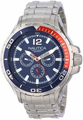 reloj nautica  n22616g original en caja hombre oferta