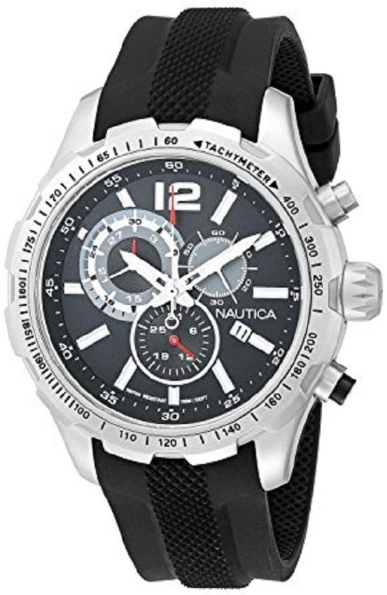 Reloj Nautica Nad15512g Análogo Negro Para Hombre -   530.900 en ... 353b10524675