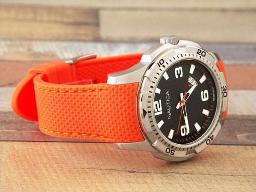 reloj nautica nai12519g hombre wr 100m +envio gratis