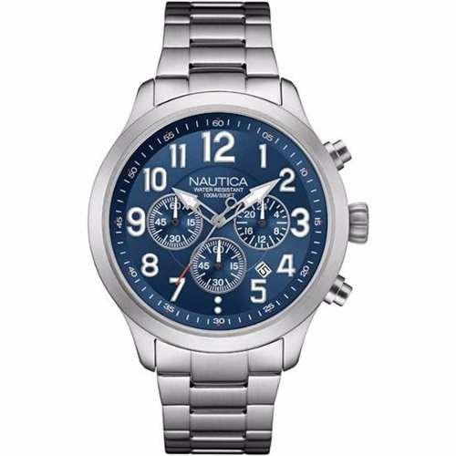 reloj nautica nai16516g hombre wr 100m envió gratis