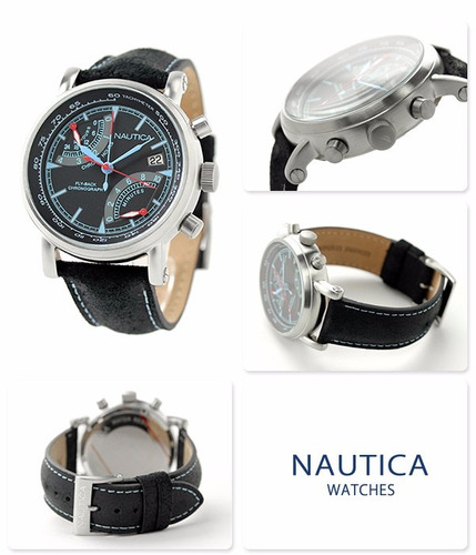 reloj nautica nai17503g hombre wr100m+envio gratis
