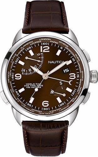 reloj nautica nai19509g hombre wr100m envio gratis