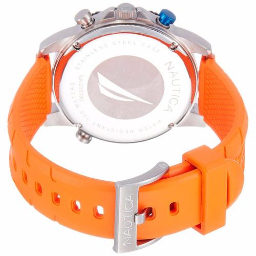 reloj nautica nai20008g hombre wr100m+envio gratis