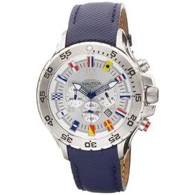 0e470e89aacf Reloj Nautica Nst Banderas Azul - Joyas y Relojes en Mercado Libre ...