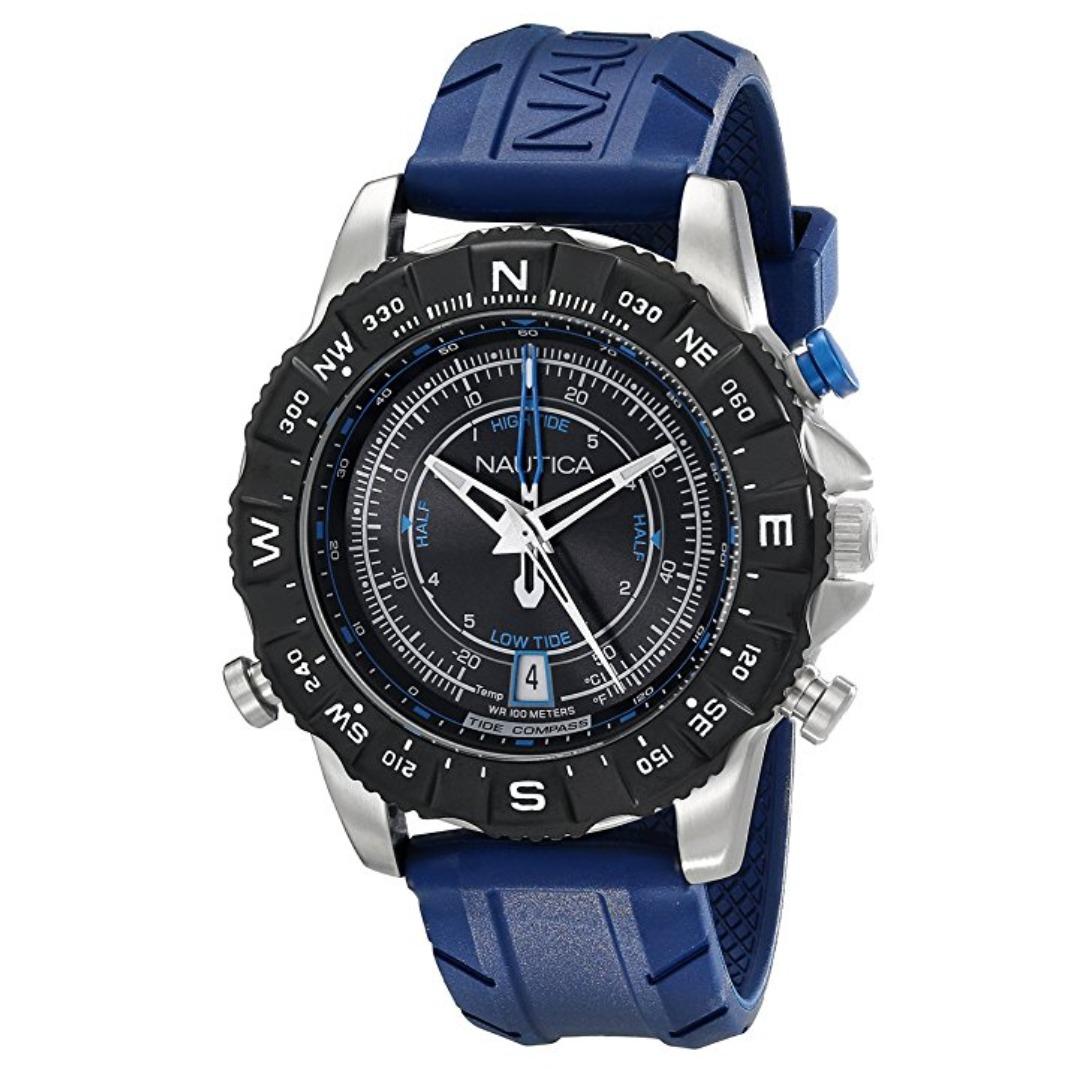 5688ac3a9c80 reloj nautica para hombre color azul nuevo original a pedido. Cargando zoom.