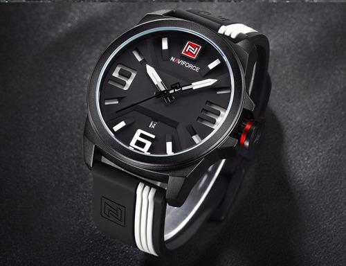 reloj naviforce hombre deportivo fechador