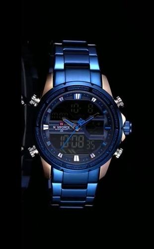 reloj naviforce nf9138s hombre