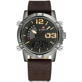 Reloj Naviforce Original Militar, Análogo-digital Led, 9095