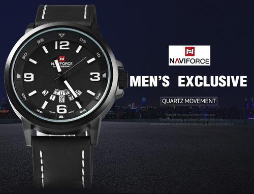 reloj naviforce original/ semicasual hombre/ garantia!