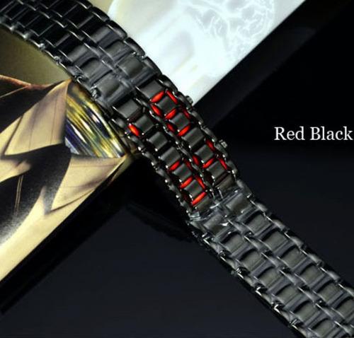 reloj negro  led sport digital modelo avion 2015