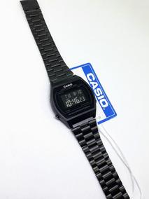 4266d749aaad Reloj Casio Vintage Original Plata A158w-1 Acero Inoxidable · Reloj Negro  Mate B640 Nuevos Funda Manual Retro Moda